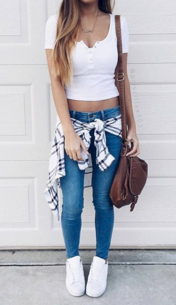 Cute Back to School Outfits Ideas for High School