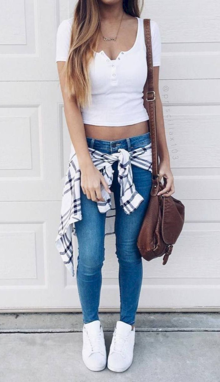 Cute Back to School Outfits Ideas for High School - ClassyStylee