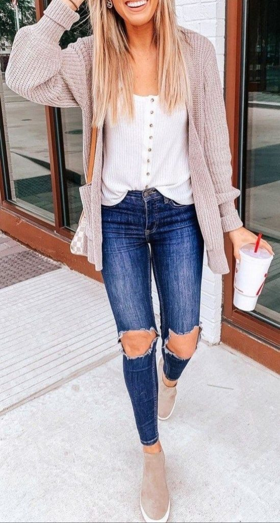 17 Cute Casual Fall Outfits Ideas for Women 2019 Trends ...