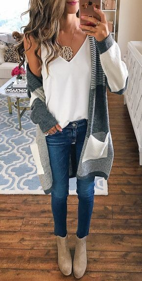 17 Cute Casual Fall Outfits Ideas for Women 2019 Trends