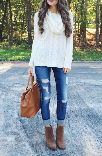 Trendy Casual Autumn fall outfits for women