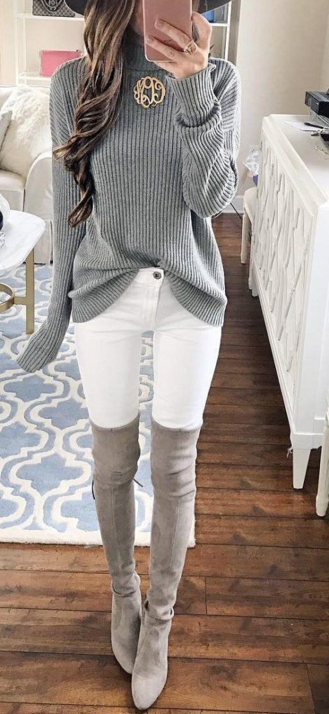 67 Comfy Winter Outfits for Women
