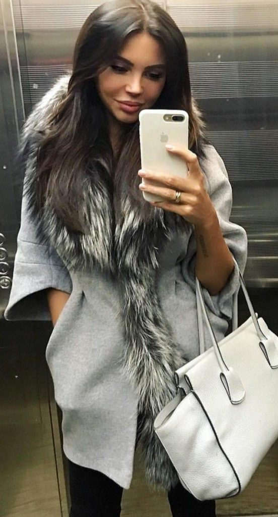 Cute date nights winter outfit