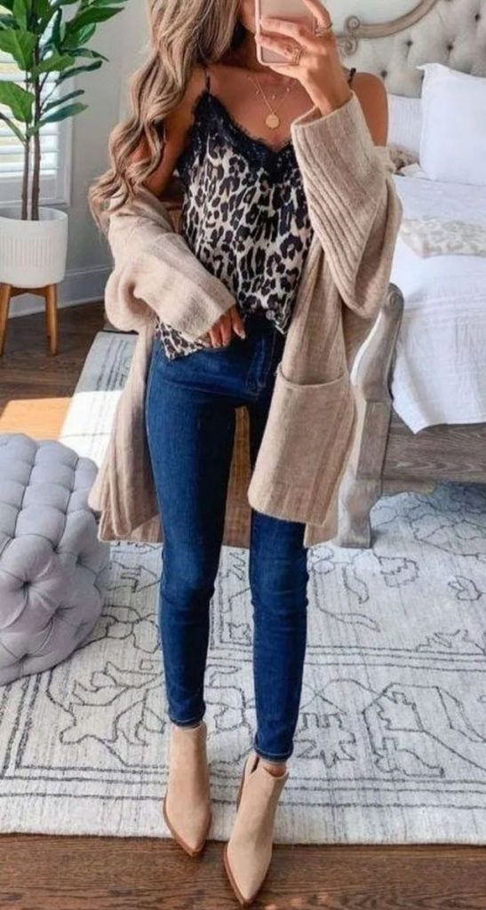 45 Long Cardigan Winter Outfit Ideas for Women