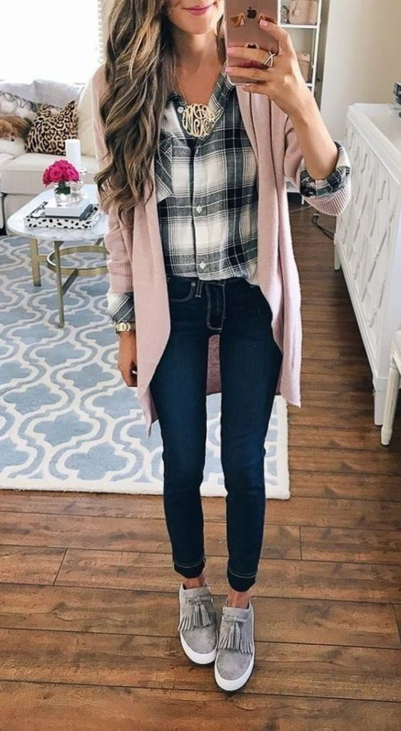 Best long cardigan Winter Outfits for Women
